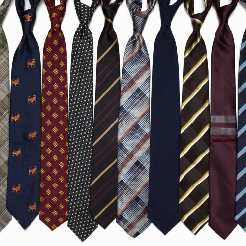 Skinny neck ties